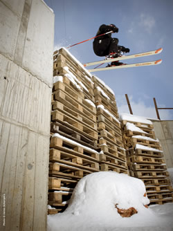 Pro Skier, Alan Garcia, sponsored by 3Ryde