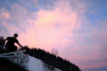 Pro Skier, Alan Garcia, sponsored by 3Ryde